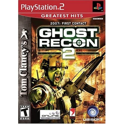 Image 0 of Tom Clancy's Ghost Recon 2: First Contact Greatest Hits For PlayStation 2 PS2