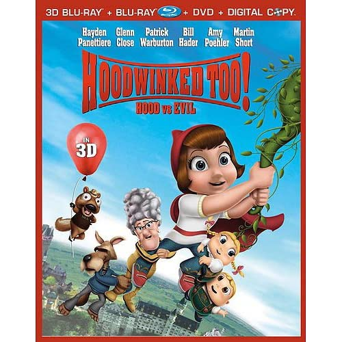 Hoodwinked Too! Hood Vs Evil Five-Disc Combo: 3d/Blu-Ray/dvd/digital Copy/bonus