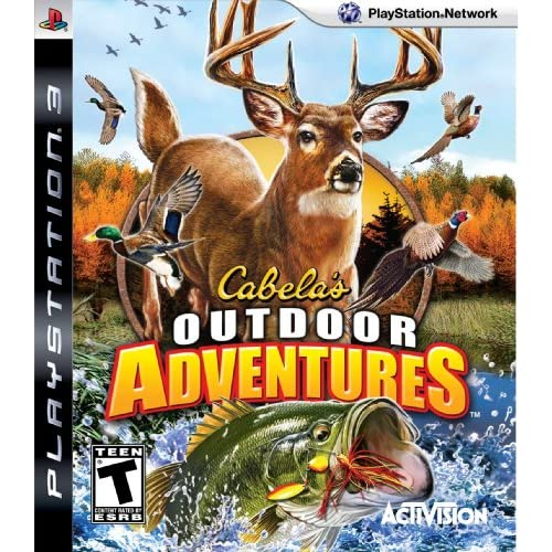 Cabela's Outdoor Adventure '10 For PlayStation 3 PS3 Shooter