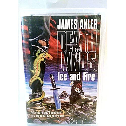 Image 0 of Deathlands: Ice And Fire By James Axler On Audio Cassette