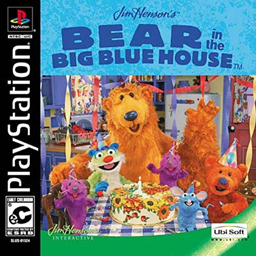 Bear In Big Blue House Ps Psx For PlayStation 1 PS1