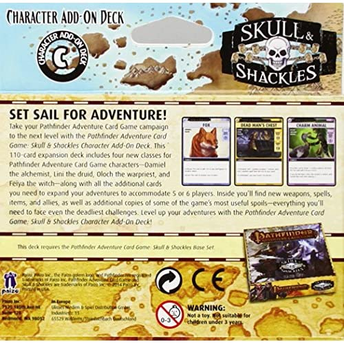 Image 2 of Pathfinder Adventure Card Game: Skull And Shackles Character Add-On