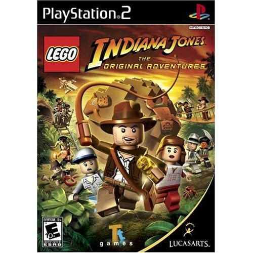 Lego Indiana Jones: The Original Adventures For PlayStation 2 PS2