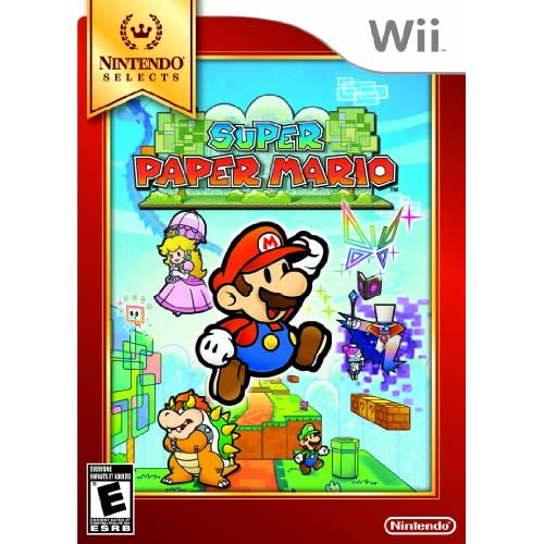 Image 0 of Super Paper Mario Nintendo Selects For Wii