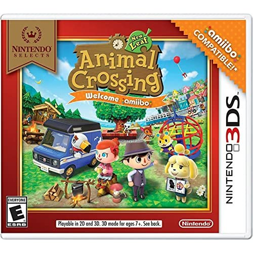 Animal Crossing: New Leaf For 3DS With Manual and Case