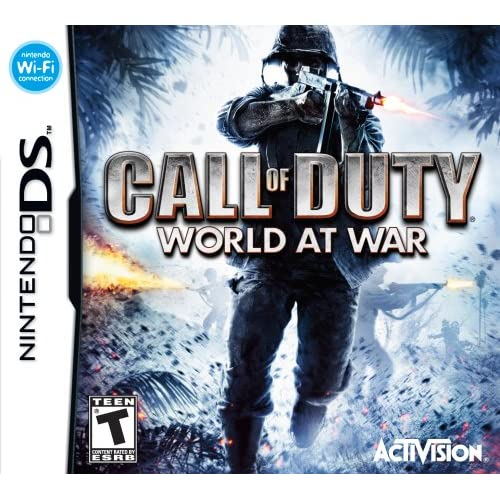 Image 0 of Call Of Duty: World At War For Nintendo DS DSi 3DS 2DS COD Shooter