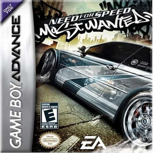 Image 0 of Need For Speed: Most Wanted For GBA Gameboy Advance Racing
