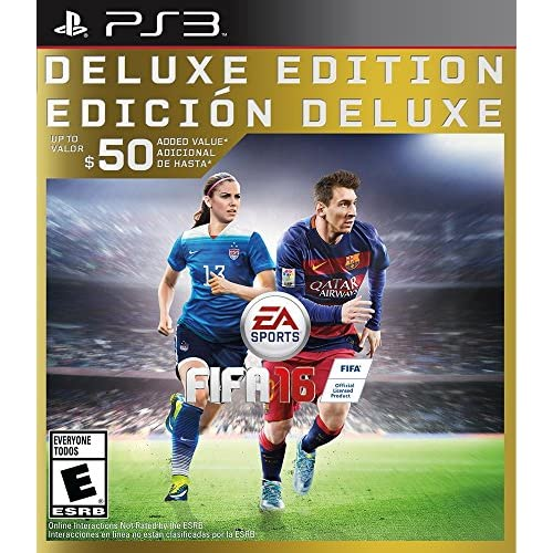 Image 0 of FIFA 16 Deluxe Edition For PlayStation 3 PS3 Soccer