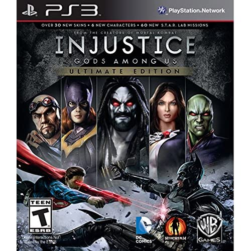 Injustice: Gods Among US PS3 Ultimate Edition For PlayStation 3 Fighting