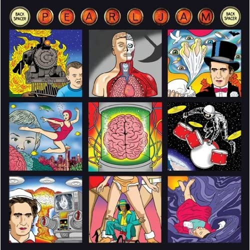 Image 0 of Backspacerregular Ed By Pearl Jam On Audio CD Album