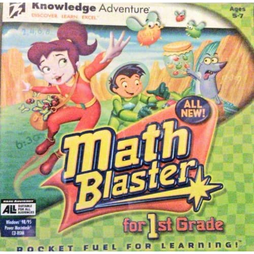 Image 0 of Math Blaster For 1st Grade Software