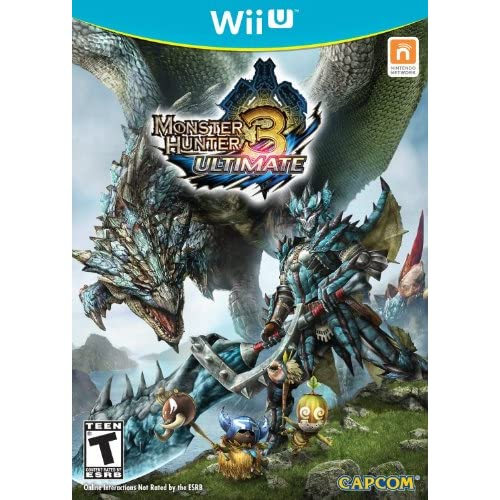Monster Hunter 3 Ultimate For Wii U With Manual And Case