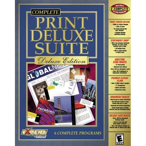 Image 0 of Complete Print Center Suite Deluxe Edition Software