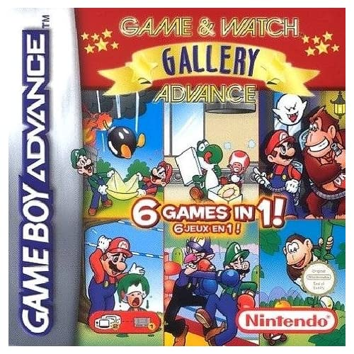 Image 0 of Game And Watch Gallery 4 For GBA Gameboy Advance