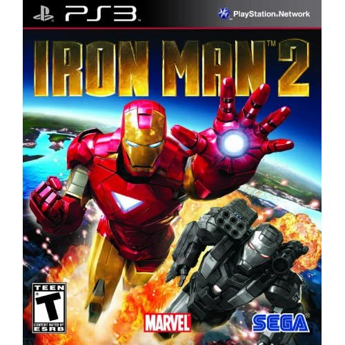 Image 0 of Iron Man 2 For PlayStation 3 PS3