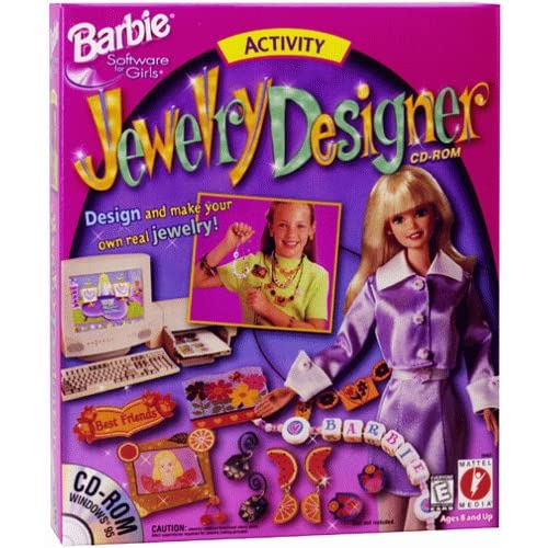 Barbie Jewelry Designer PC Software