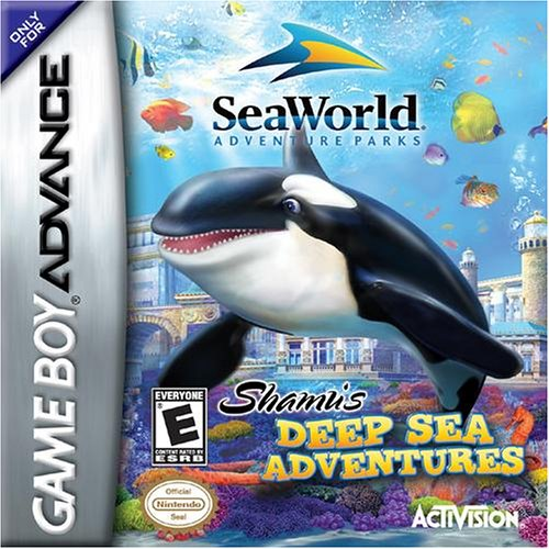 Image 0 of Seaworld Adventure Parks Shamu's Deep Sea Adventure Game Boy Advance For GBA Gam