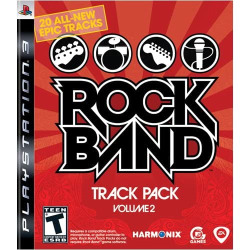 Rock Band Track Pack: Vol 2 For PlayStation 3 PS3 Music With Manual and Case