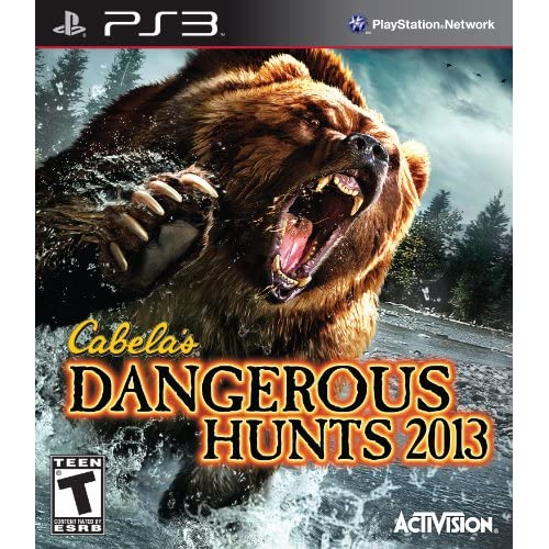Image 0 of Cabela's Dangerous Hunts 2013 For PlayStation 3 PS3 Shooter