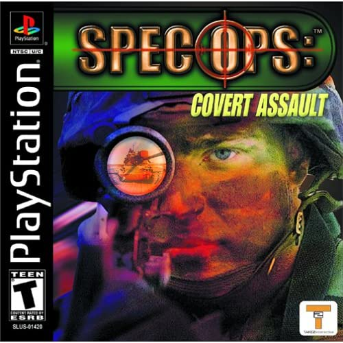 Spec Ops: Covert Assault For PlayStation 1 PS1 Shooter
