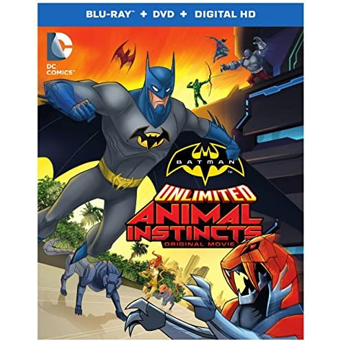 Image 0 of Batman Unlimited:animal Instincts Blu-Ray Digital HD Ultraviolet Combo Pack On B