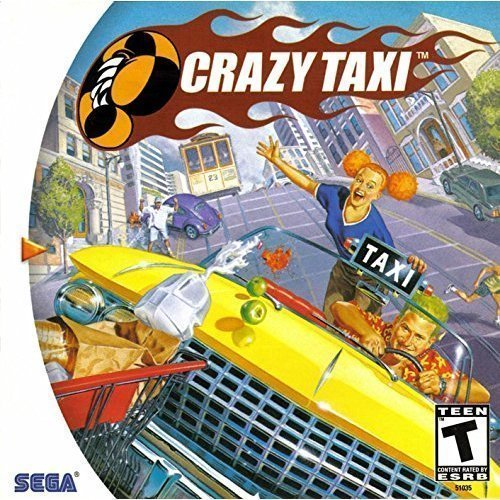 Image 0 of Crazy Taxi For Sega Dreamcast Flight