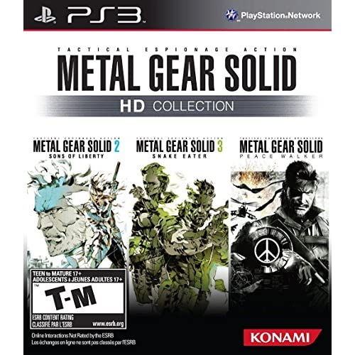 Metal Gear Solid HD Collection For PlayStation 3 PS3