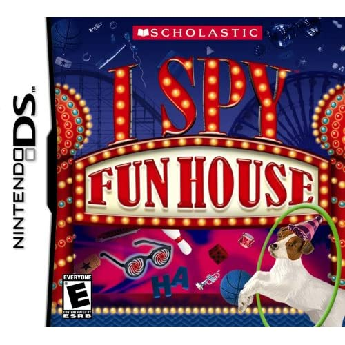 Image 0 of I Spy Fun House For Nintendo DS DSi 3DS 2DS Puzzle