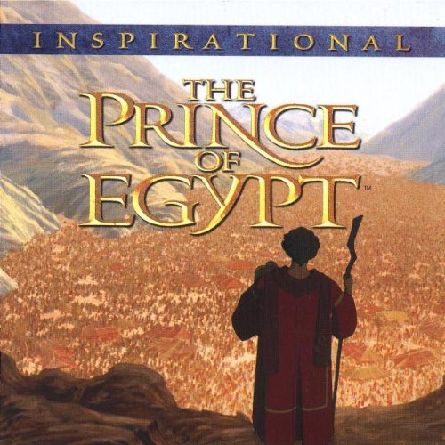 The Prince Of Egypt Inspirational On Audio Cd Album 1998