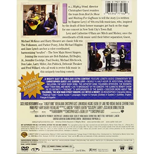 Image 3 of A Mighty Wind On DVD With Catherine O'Hara Comedy