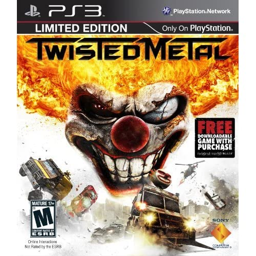 Image 0 of Twisted Metal For PlayStation 3 PS3 Fighting