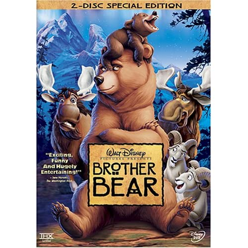 Image 0 of Brother Bear On DVD With Joaquin Phoenix Disney Children