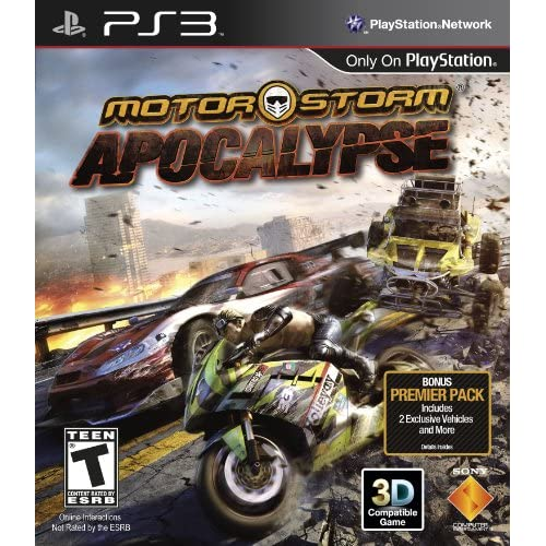 Motorstorm Apocalypse For PlayStation 3 PS3 Flight With Manual and Case