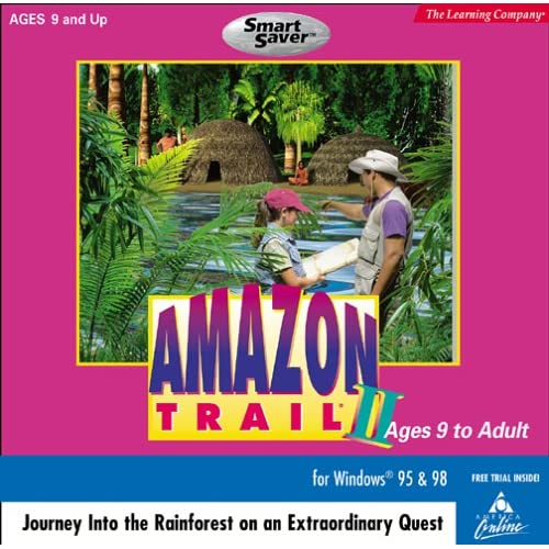 Amazon Trail 2 Software PC Vintage