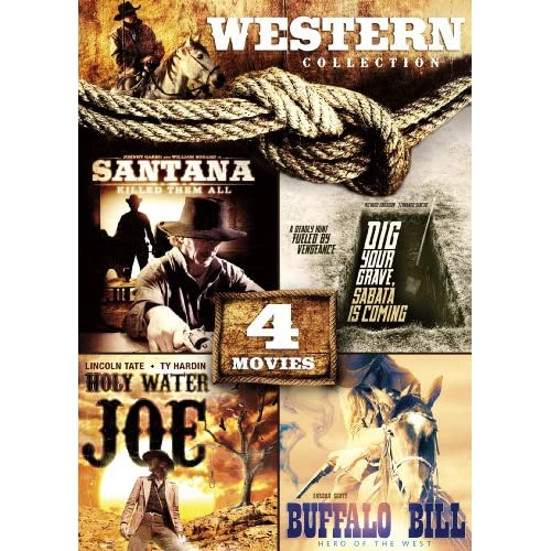Image 0 of 4-MOVIE Western Collection: Holy Water Joe / Dig Your Grave Sabata's Coming / Bu