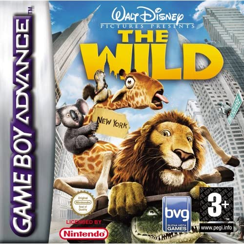 Disney's The Wild GBA For GBA Gameboy Advance Action