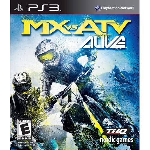 MX Vs ATV Alive For PlayStation 3 PS3 Racing