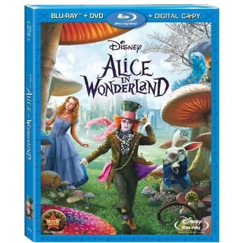 Alice In Wonderland Blu-Ray On Blu-Ray Disney