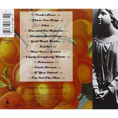 Image 3 of Our Time In Eden By 000 Maniacs 10 On Audio CD Album 1992