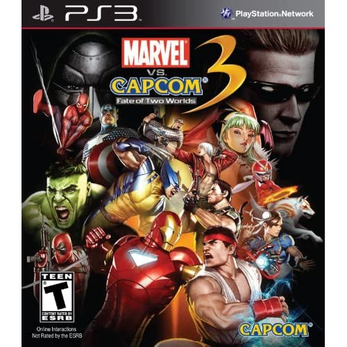 Marvel Vs Capcom 3: Fate Of Two Worlds For PlayStation 3 PS3 2 Fighting