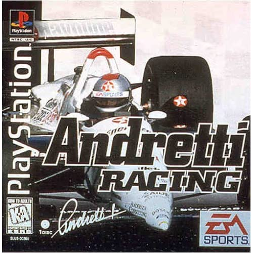 Andretti Racing: For PlayStation 1 PS1