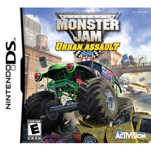 Image 0 of Monster Jam Urban Assult For Nintendo DS DSi 3DS 2DS Flight