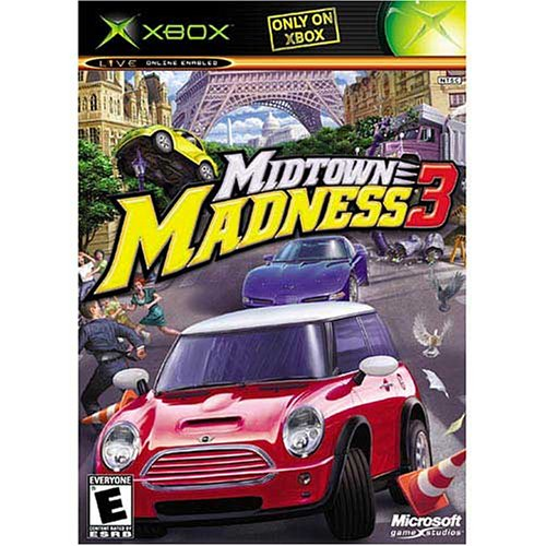 Old Xbox Games Racing Games : Midtown madness for xbox original racing