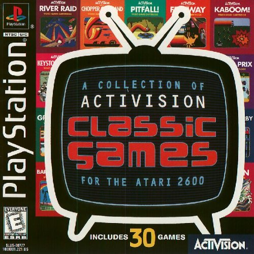 Image 0 of Classic Games For The Atari 2600 For PlayStation 1 PS1 Arcade