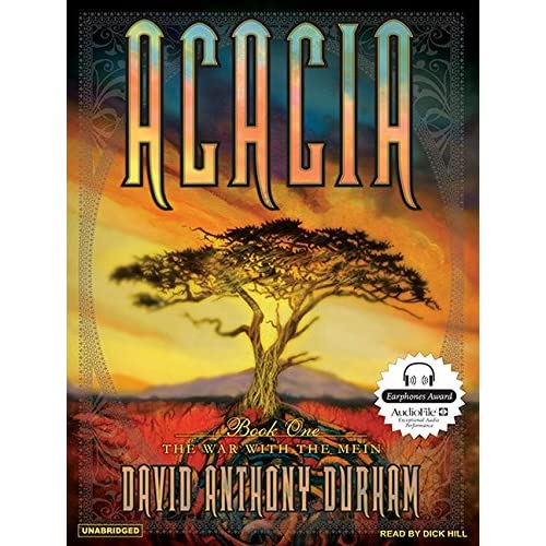 Acacia: The War With The Mein Acacia Book 1 On Audiobook CD Literature