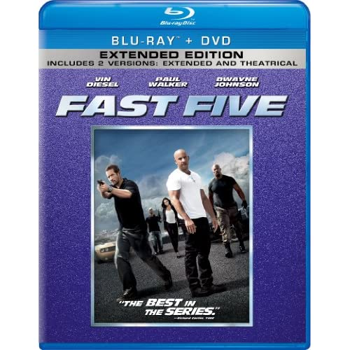 Image 0 of Fast Five Blu-Ray On Blu-Ray With Dwayne Johnson 5