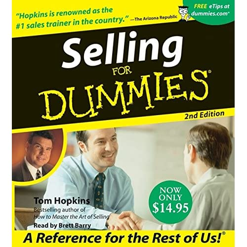 Selling For Dummies By Tom Hopkins And Brett Barry Reader On Audiobook