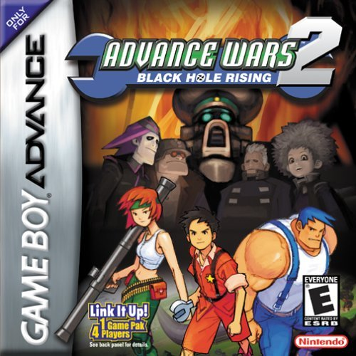 Advance Wars 2: Black Hole Rising For GBA Gameboy Advance RPG