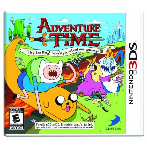 Adventure Time: Hey Ice King! Why'd You Steal Our Garbage?!! Nintendo For 3DS