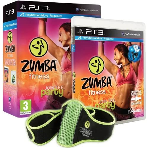 Zumba Fitness Move Compatible PS3 For PlayStation 3 AAE477